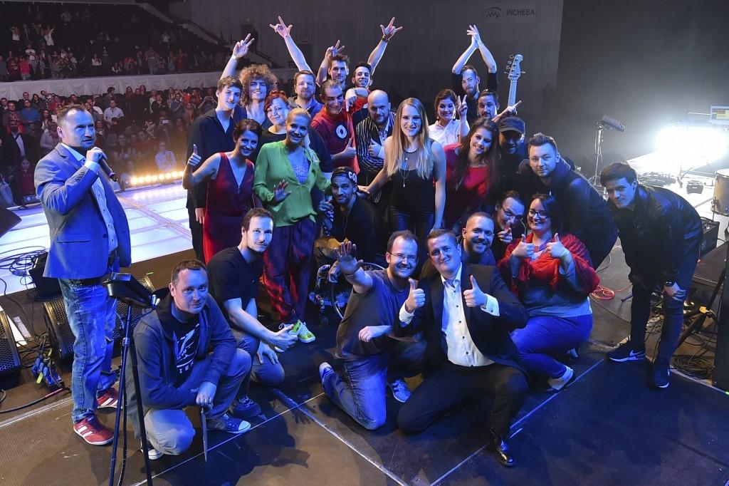 beneficny koncert Hudba bez hranic liptov arena