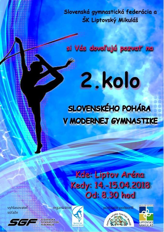 slovensky pohar v modernej gymnastike