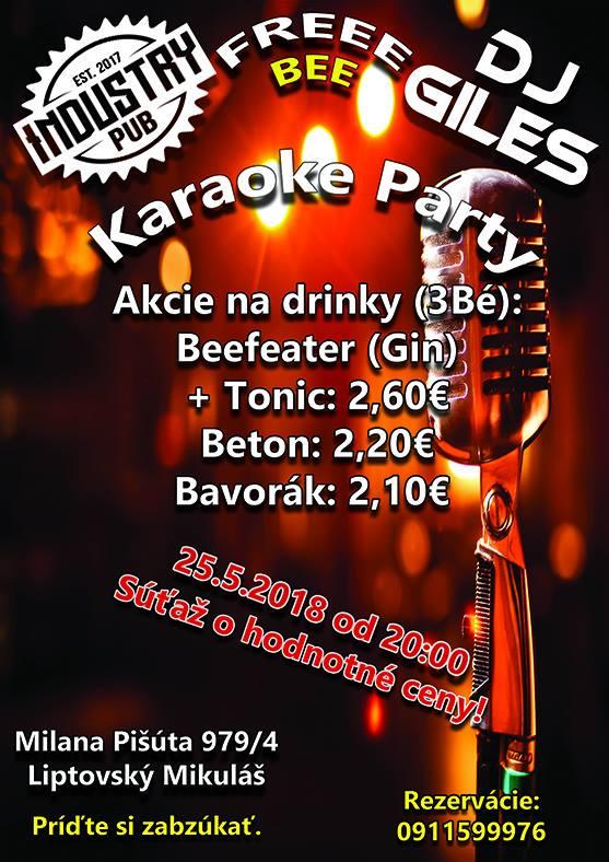 Liptov akcie udalosti lipovzije liptov zije karaoke party industry pub