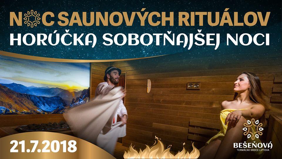 Liptov akcie udalosti lipovzije liptov zije aquapark besenova gino park sauna saunove ritualy horucka sobotnej noci