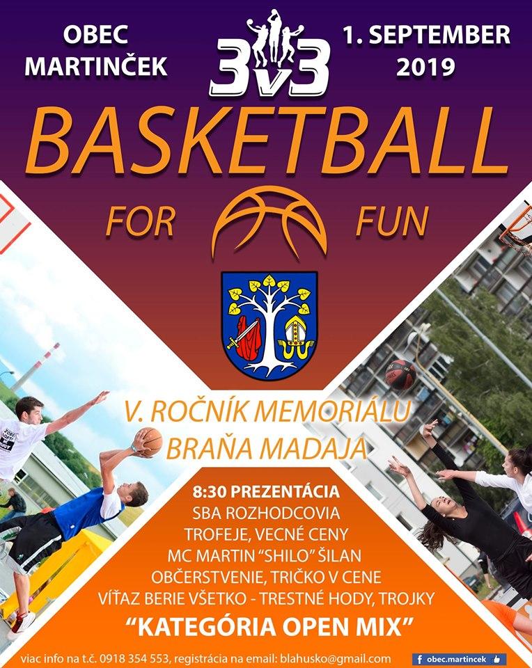 Liptov akcie udalosti lipovzije liptov zije 2019 streetball for fun 3v3 martincek basketball