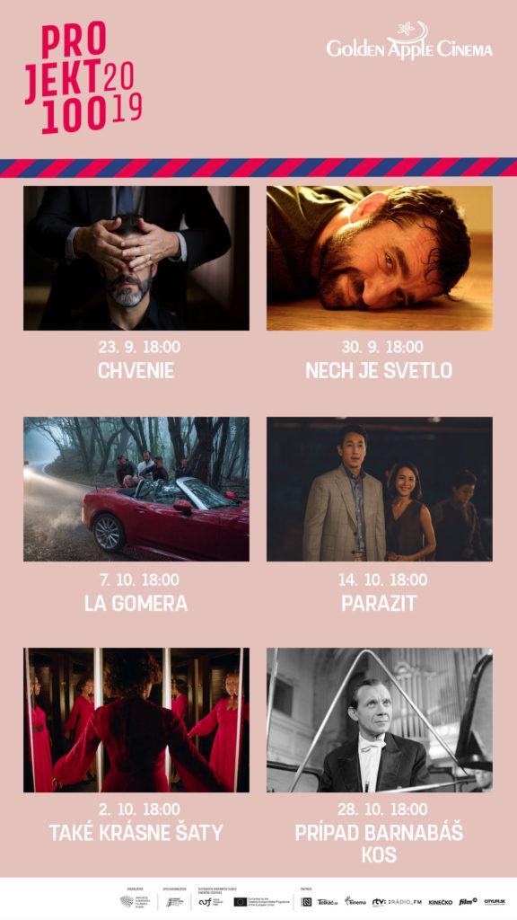 GA cinema Projekt 100 2019 liptov zije